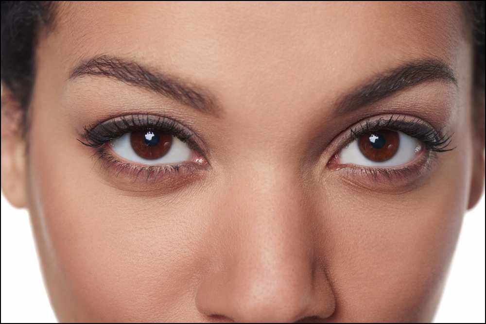 What a woman's eyes tell you