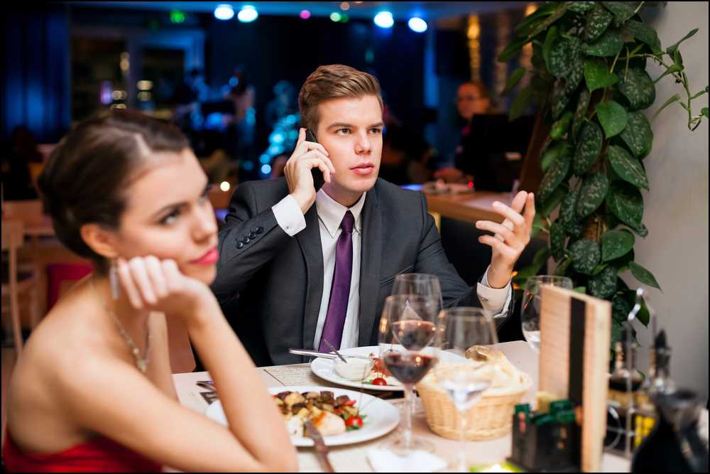 What Is Good Cell Phone Etiquette On A Date?