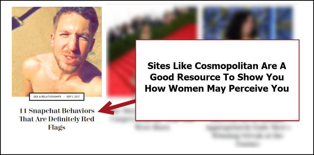 Women's websites are good resources for men