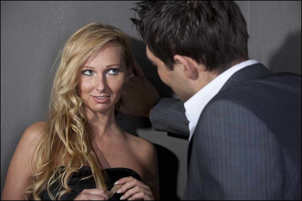 Think, how to flirt without being obvious rather