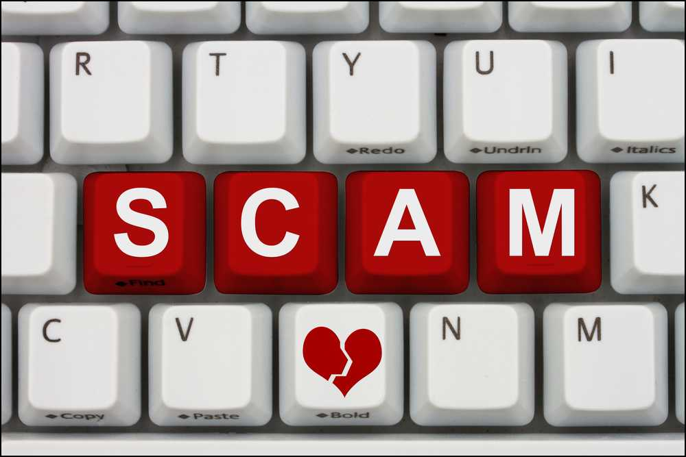 How to spot online dating scammers