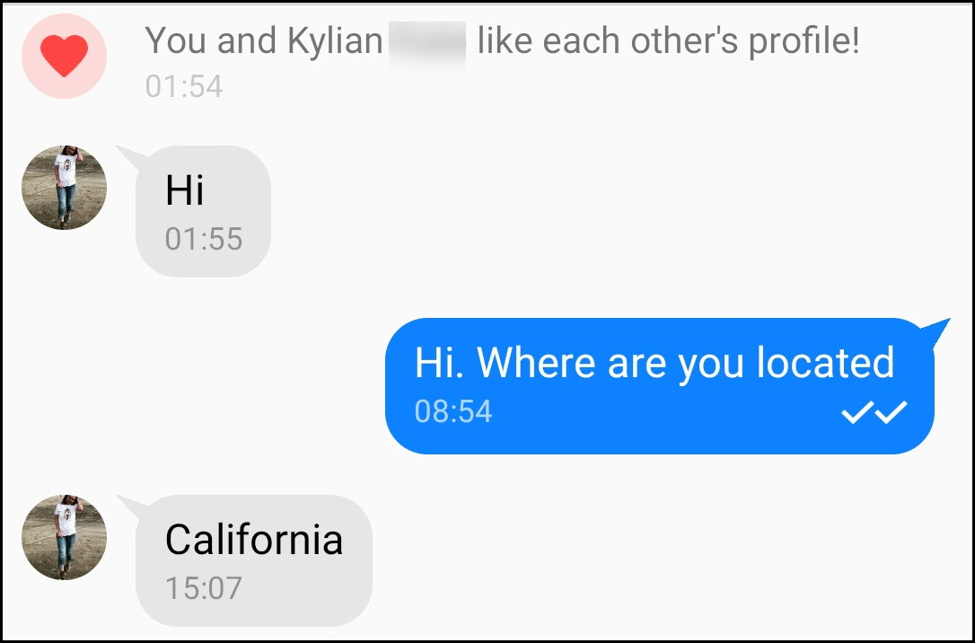 How to spot scammer dating sites in conversations