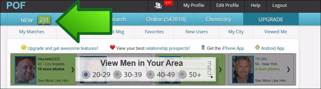 Dating sites where women message